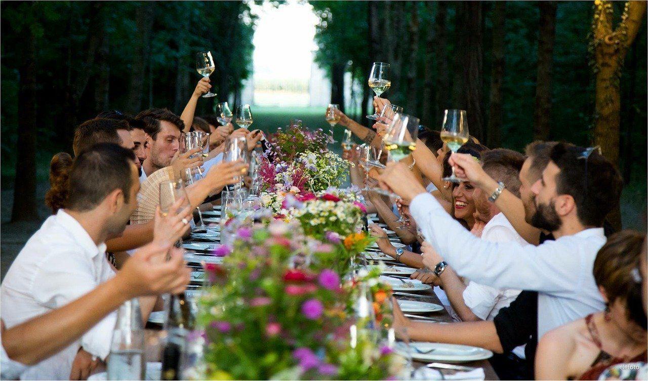 Celebrations at luxury houses on Costa Brava