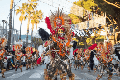 Carnival Parade in Playa de Aro